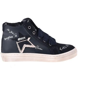 Sapatos Criança Sapatilhas de cano-alto Melania ME2041D8I.B Azul