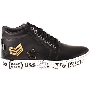 Sapatos Criança Sapatilhas de cano-alto Melania ME6033F8I.A Preto