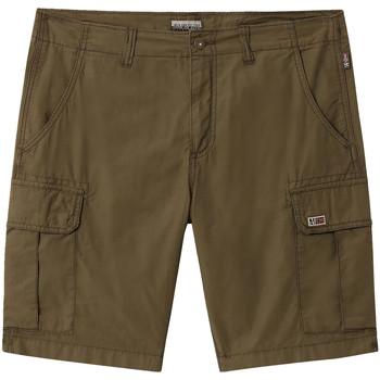 Textil Homem Shorts / Bermudas Napapijri NP0A4E1K Verde