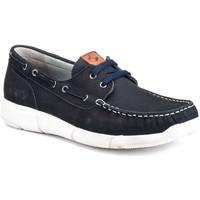 Sapatos Homem Sapato de vela Lumberjack SM59914 001 D01 Azul