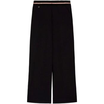 Textil Mulher Calças finas / Sarouels NeroGiardini E060060D Preto