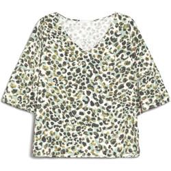 Textil Mulher T-Shirt mangas curtas NeroGiardini E062770D Verde
