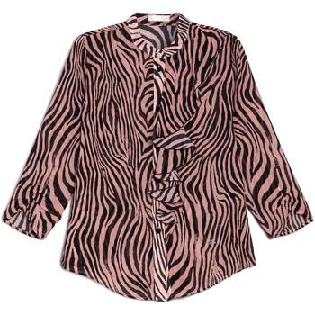 Textil Mulher camisas NeroGiardini E063181D Preto