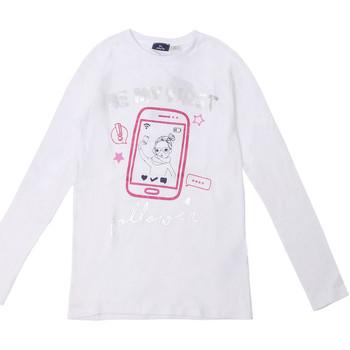 Textil Criança T-shirt mangas compridas Chicco 09006871000000 Branco