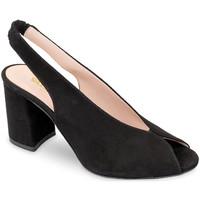 Sapatos Mulher Sandálias Valleverde 29201 Preto