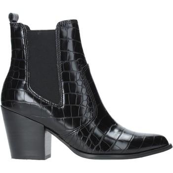 Sapatos Mulher Botins Steve Madden SMSPATRICIA-BLKCRO Preto