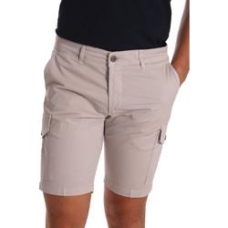 Textil Homem Shorts / Bermudas Sei3sei PZV130 7148 Bege