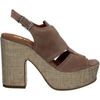 Sapatos Mulher Sandálias Keys 5263 Bege