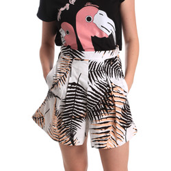 Textil Mulher Shorts / Bermudas Fornarina BER1I88C97709 Branco