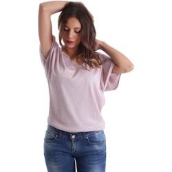 Textil Mulher Tops / Blusas Fornarina SE175J78JG01C5 Rosa