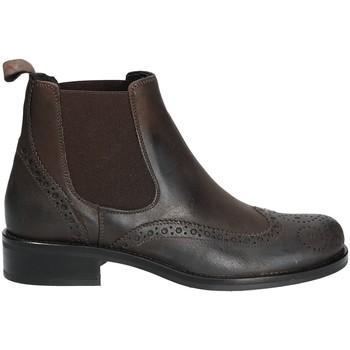 Sapatos Mulher Botas baixas Mally 4591 Castanho