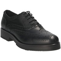 Sapatos Mulher Richelieu Mally 4704S Preto