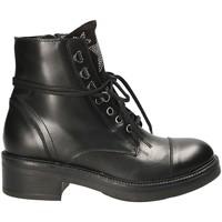 Sapatos Mulher Botas baixas Mally 6019 Preto