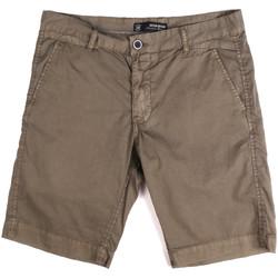 Textil Homem Shorts / Bermudas Key Up 2P17A 0001 Castanho