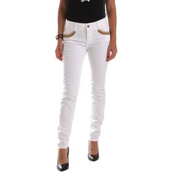 Textil Mulher Chinos Gaudi 911BD26030 Branco