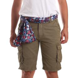 Textil Homem Fatos e shorts de banho Gaudi 911BU25034 Verde