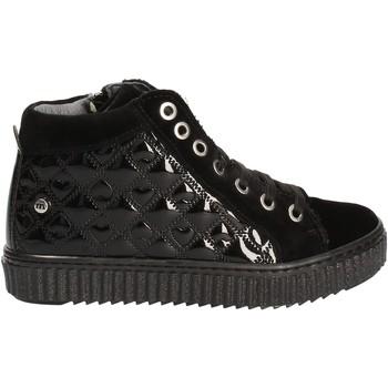 Sapatos Criança Sapatilhas de cano-alto Melania ME6073F7I.A Preto