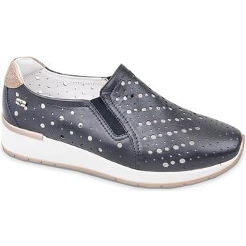 Sapatos Mulher Slip on Valleverde V66384 Azul