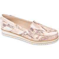 Sapatos Mulher Mocassins Valleverde 11108 Laranja