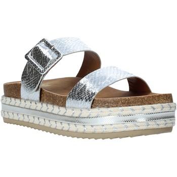 Sapatos Mulher Chinelos Gold&gold A20 GJ340 Prata