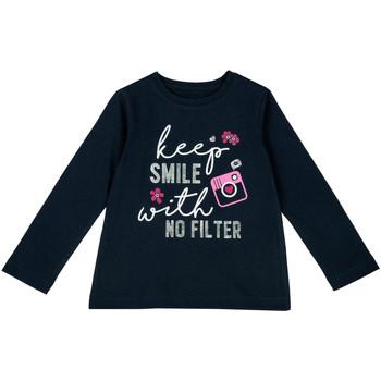 Textil Criança T-shirt mangas compridas Chicco 09006871000000 Azul