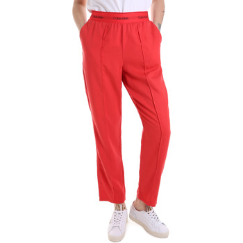 Textil Mulher Calças de treino Calvin Klein Jeans K20K201765 Vermelho