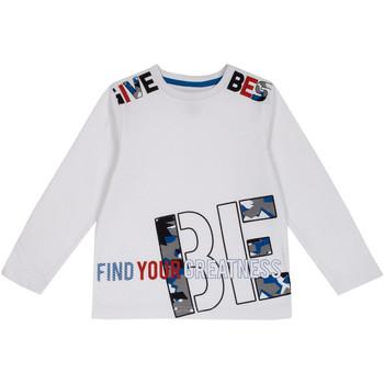 Textil Criança T-shirt mangas compridas Chicco 09006867000000 Branco