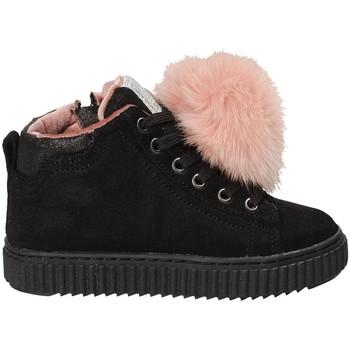 Sapatos Criança Sapatilhas de cano-alto Grunland PO1081 Preto