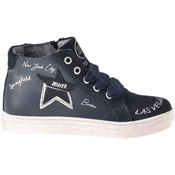 Sapatos Criança Sapatilhas de cano-alto Melania ME6041F8I.B Azul