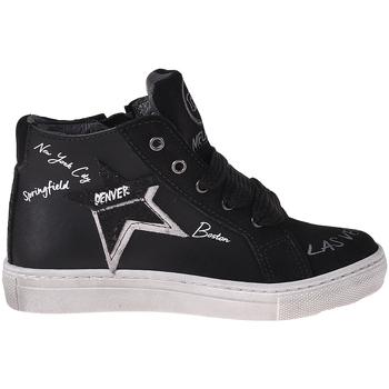 Sapatos Criança Sapatilhas de cano-alto Melania ME2041D8I.A Preto