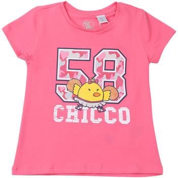 Textil Criança T-Shirt mangas curtas Chicco 09006955000000 Rosa
