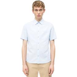 Textil Homem Camisas mangas curtas Calvin Klein Jeans J30J311111 Azul