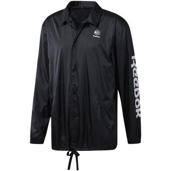 Textil Homem Corta vento Reebok Sport DT8205 Preto