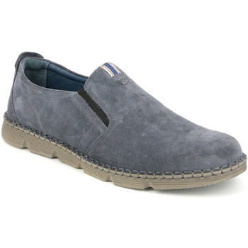 Sapatos Homem Slip on Grunland SC4526 Azul