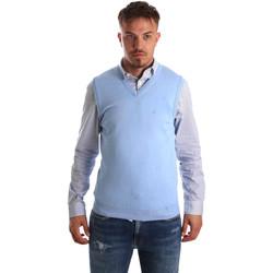 Textil Homem Casacos de malha Navigare NV00165 21 Azul
