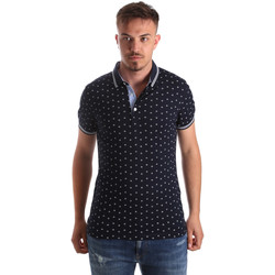 Textil Homem Polos mangas curta Navigare NV82099 Azul
