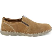 Sapatos Homem Mocassins Grunland SC4526 Castanho