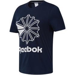 Textil Mulher T-Shirt mangas curtas Reebok Sport DT7222 Azul