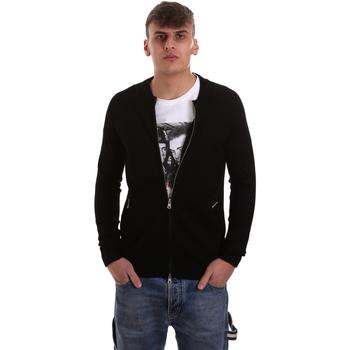 Textil Homem Casacos de malha Gaudi 921BU53015 Preto