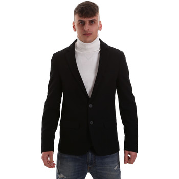 Textil Homem Casacos/Blazers Antony Morato MMJA00407 FA100130 Preto