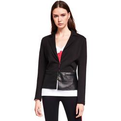 Textil Mulher Casacos/Blazers Gaudi 921BD34001 Preto