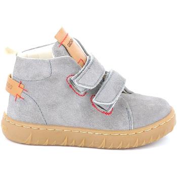 Sapatos Criança Sapatilhas de cano-alto Grunland PP0272 Cinzento