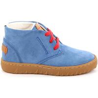 Sapatos Criança Sapatilhas de cano-alto Grunland PO1471 Azul