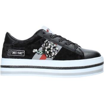 Sapatos Criança Sapatilhas Sweet Years W19-SSK313 Preto