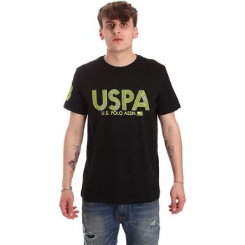 Textil Homem T-Shirt mangas curtas U.S Polo Assn. 57197 49351 Preto