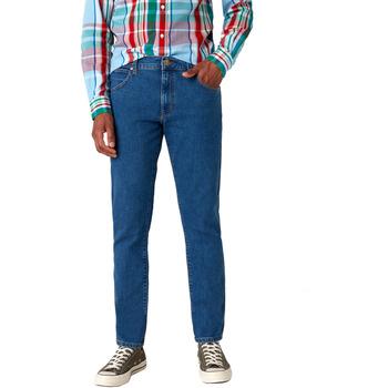 Textil Homem Calças de ganga slim Wrangler W18SHR36B Azul