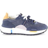 Sapatos Homem Sapatilhas Wrangler WM01123A Azul