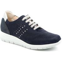 Sapatos Mulher Sapatilhas Grunland SC4874 Azul
