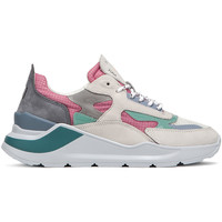 Sapatos Mulher Sapatilhas Date W321-FG-NK-PK Rosa