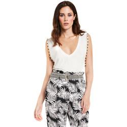 Textil Mulher Tops / Blusas Gaudi 011FD64008 Branco